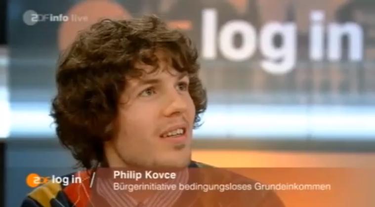 ZDF log in: Grundeinkommen für alle?