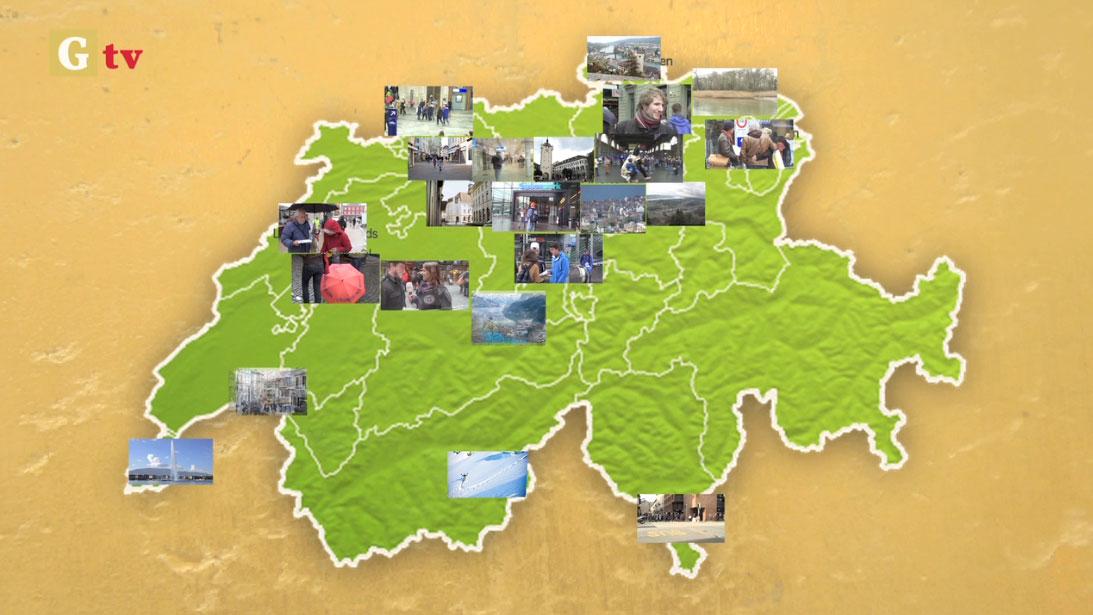 Unterschriften sammeln für die Volksinitiative zum Grundeinkommen
