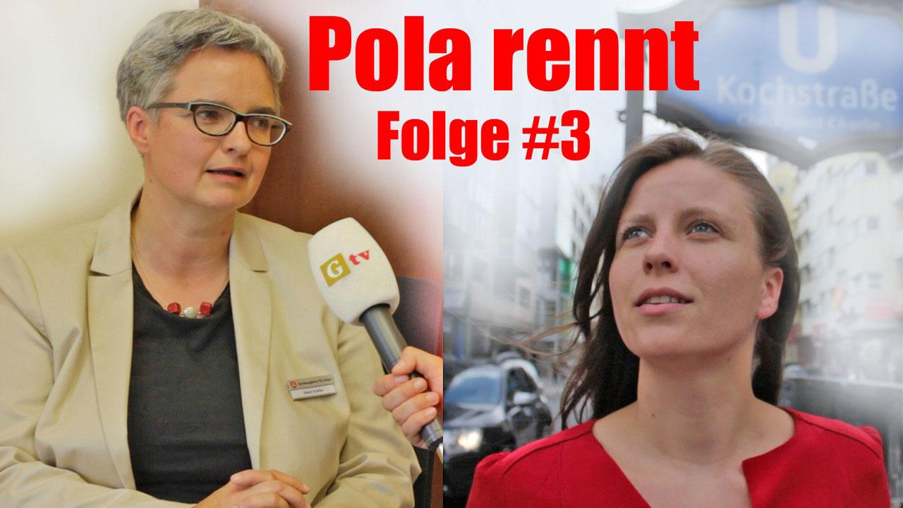 Pola rennt #3: Was wäre Arbeit dann noch Wert – Beate Kostka, Bundesagentur für Arbeit