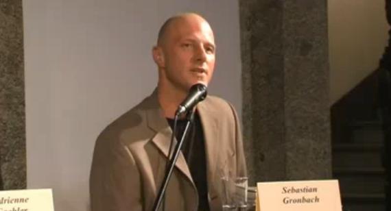 Sebastian Gronbach – Reden über Geld