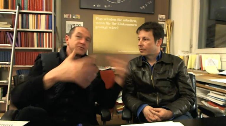 Interview mit Enno Schmidt und Daniel Häni