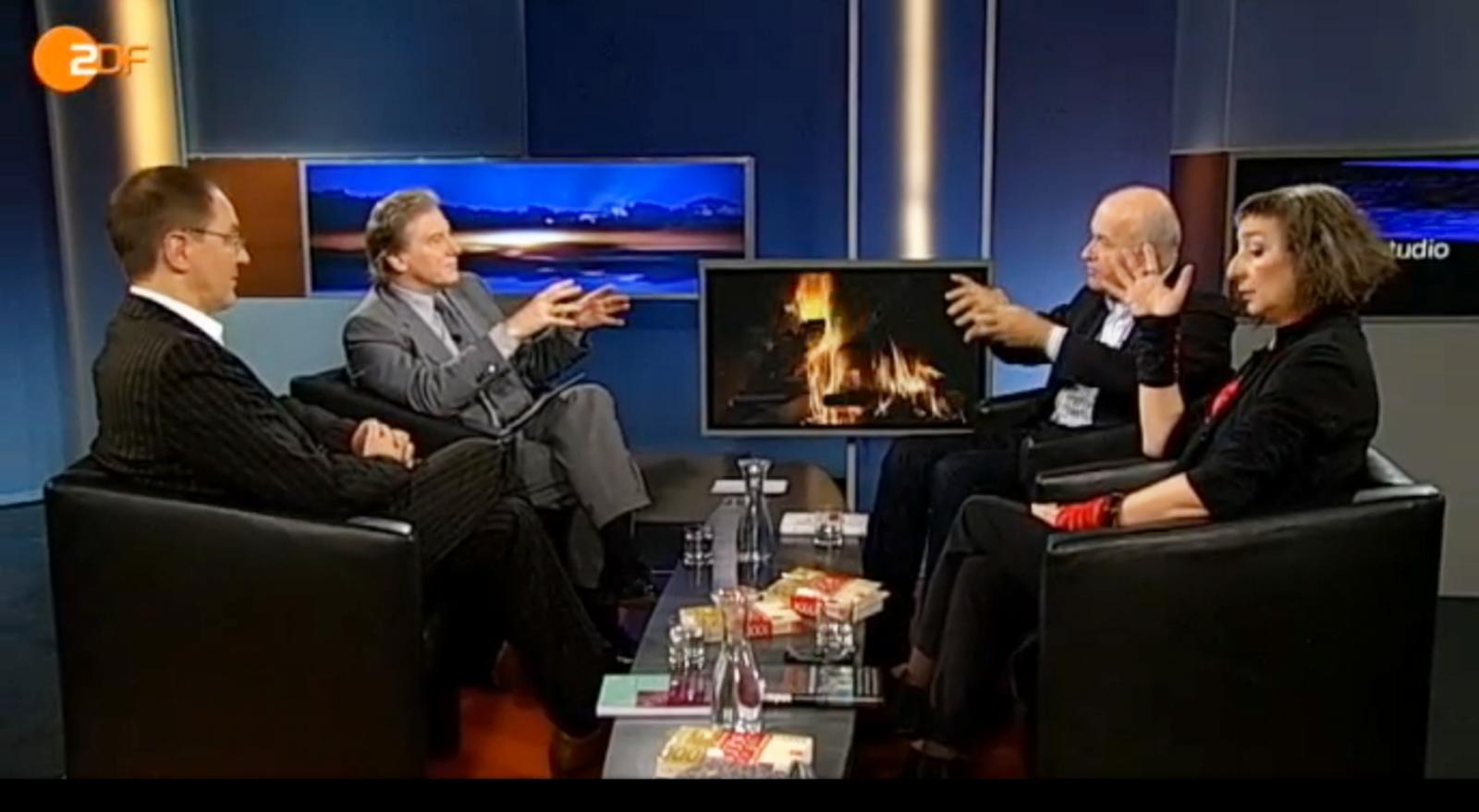 ZDF Nachstudio zum Grundeinkommen