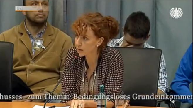 Petition zum Grundeinkommen von Susanne Wiest – Rede im Deutschen Bundestag