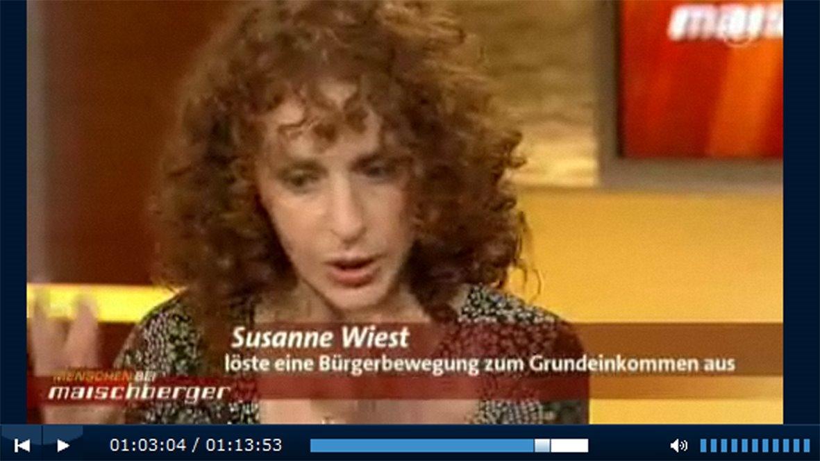 ARD – Susanne Wiest bei Maischberger