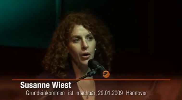 Susanne Wiest – Grundeinkommen ist machbar